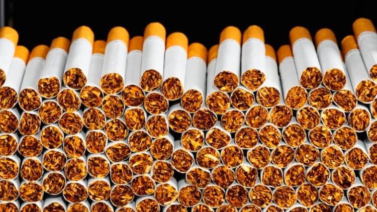 сигареты сразу после набивки табаком